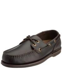 Chaussures bateau marron Rockport