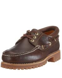 Chaussures bateau marron Timberland