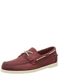 Chaussures bateau rouges Sebago