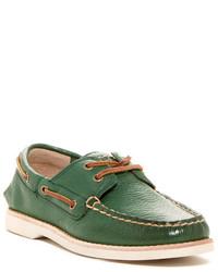 Chaussures bateau vertes