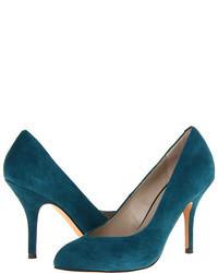 Chaussures bleues canard