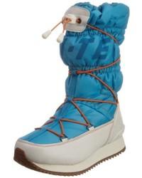 Chaussures bleues canard Hi-Tec