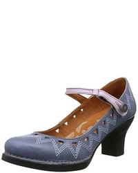 Chaussures bleues Art