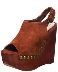 Chaussures bordeaux Jeffrey Campbell