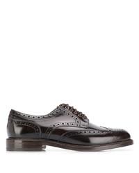 Chaussures brogues en cuir marron foncé Berwick Shoes