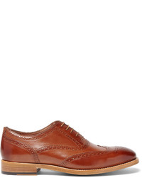 Chaussures brogues en cuir marron Paul Smith