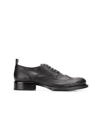 Chaussures brogues en cuir noires Ann Demeulemeester