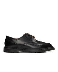 Chaussures brogues en cuir noires Dr. Martens