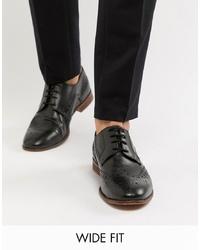 Chaussures brogues en cuir noires Kg Kurt Geiger