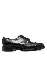 Chaussures brogues en cuir noires Polo Ralph Lauren