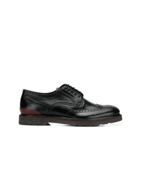 Chaussures brogues en cuir noires Ps By Paul Smith