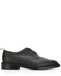Chaussures brogues en cuir noires Thom Browne