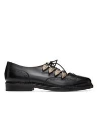 Chaussures brogues en cuir noires Toga Virilis