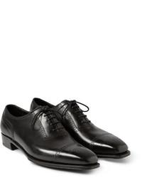 Chaussures brogues en cuir