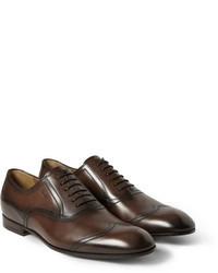 Chaussures brogues marron foncé