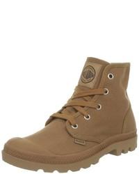 Chaussures brunes Palladium