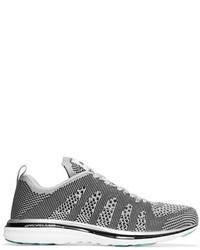 Chaussures de sport argentées