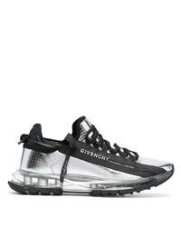 Chaussures de sport argentées Givenchy