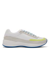 Chaussures de sport beiges A.P.C.