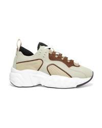 Chaussures de sport beiges Acne Studios