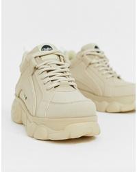 Chaussures de sport beiges Buffalo