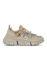 Chaussures de sport beiges Chloé