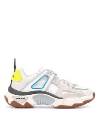 Chaussures de sport beiges Diesel