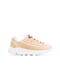 Chaussures de sport beiges Ganni
