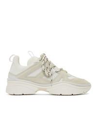 Chaussures de sport beiges Isabel Marant