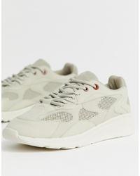Chaussures de sport beiges Pull&Bear