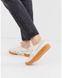 Chaussures de sport beiges Reebok