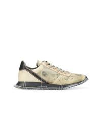 Chaussures de sport beiges Rick Owens