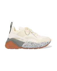 Chaussures de sport beiges Stella McCartney