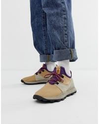Chaussures de sport beiges Timberland