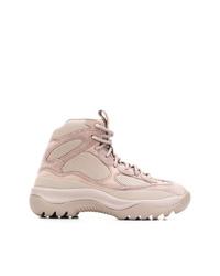 Chaussures de sport beiges Yeezy