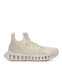 Chaussures de sport beiges Z Zegna