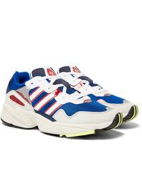 Chaussures de sport blanc et bleu adidas Originals