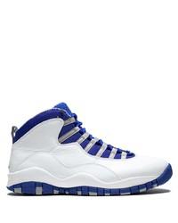 Chaussures de sport blanc et bleu Jordan