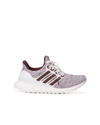 Chaussures de sport blanc et rouge adidas