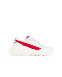 Chaussures de sport blanc et rouge Joshua Sanders