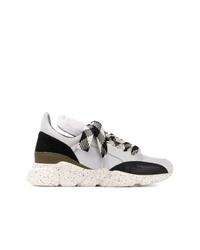 Chaussures de sport blanches et noires dorothee schumacher