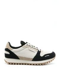 Chaussures de sport blanches et noires Emporio Armani