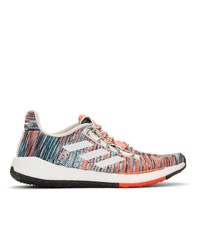 Chaussures de sport blanches adidas x Missoni