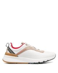 Chaussures de sport blanches Brunello Cucinelli