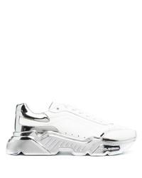 Chaussures de sport blanches Dolce & Gabbana