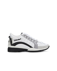 Chaussures de sport blanches Dsquared2