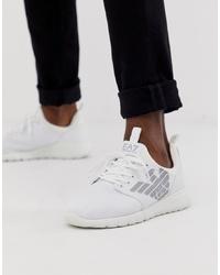 Chaussures de sport blanches EA7
