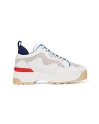 Chaussures de sport blanches Fendi