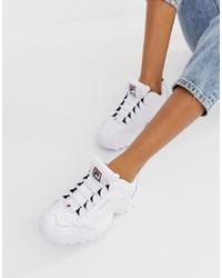 Chaussures de sport blanches Fila