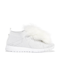 Chaussures de sport blanches Jimmy Choo